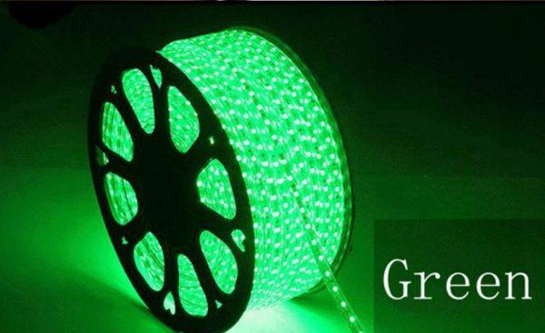მწვანე ლედ ლენტა 220V