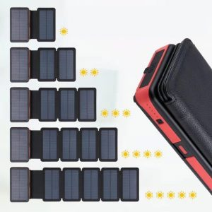 wireless solar power bank