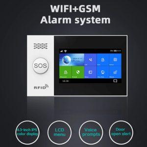 Wifi/GSM განგაშს სისტემა